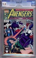 Avengers #337 CGC 9.8 w