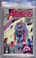 Avengers #338 CGC 9.8 w