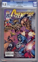 Avengers Vol 2 #1 CGC 9.8 w Variant Cover