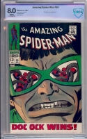 Amazing Spider-Man #55 CBCS 8.0 w