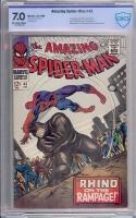 Amazing Spider-Man #43 CBCS 7.0 ow/w