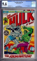 Incredible Hulk #159 CGC 9.6 ow/w