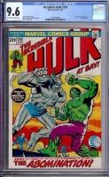 Incredible Hulk #159 CGC 9.6 ow/w