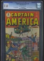 Captain America Comics #44 CGC 7.0 ow/w