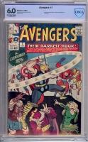 Avengers #7 CBCS 6.0 ow/w