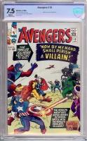 Avengers #15 CBCS 7.5 w