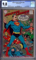 Justice League of America #63 CGC 9.8 ow