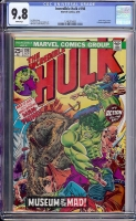 Incredible Hulk #198 CGC 9.8 w