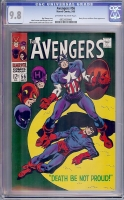 Avengers #56 CGC 9.8 ow/w