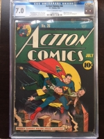 Action Comics #26 CGC 7.0 cr/ow