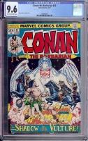 Conan The Barbarian #22 CGC 9.6 ow/w