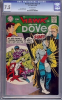 Hawk and the Dove #1 CGC 7.5 ow