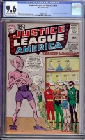 Justice League of America #11 CGC 9.6 ow/w