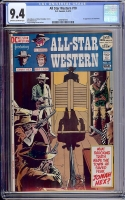 All Star Western #10 CGC 9.4 ow/w