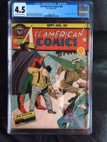 All-American Comics #30 CGC 4.5 cr/ow