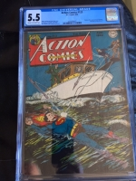 Action Comics #123 CGC 5.5 cr/ow