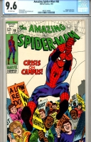 Amazing Spider-Man #68 CGC 9.6 ow/w