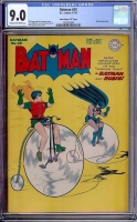 "Batman #29 CGC 9.0 cr/ow Davis Crippen (""D"" Copy)"