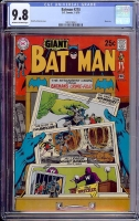 Batman #218 CGC 9.8 ow/w