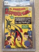 Amazing Spider-Man #12 CGC 7.5 w