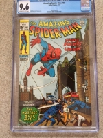 Amazing Spider-Man #95 CGC 9.6 ow/w