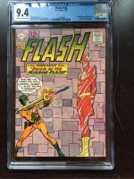 Flash #126 CGC 9.4 cr/ow