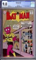 Batman #128 CGC 9.0 cr/ow Mohawk Valley