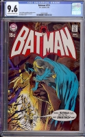 Batman #221 CGC 9.6 cr/ow