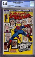 Amazing Spider-Man #121 CGC 9.4 ow/w