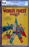 World's Finest Comics #21 CGC 9.4 ow/w