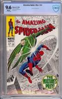 Amazing Spider-Man #64 CBCS 9.6 w