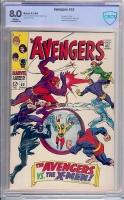 Avengers #53 CBCS 8.0 w