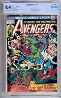 Avengers #118 CBCS 9.4 ow/w