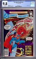 DC Comics Presents #22 CGC 9.8 w