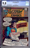 Action Comics #380 CGC 9.8 w
