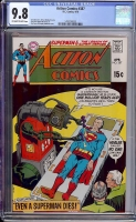 Action Comics #387 CGC 9.8 ow/w