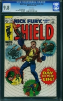 Nick Fury, Agent of SHIELD #14 CGC 9.8 w