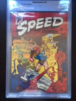 Speed Comics #42 CBCS 9.8 ow