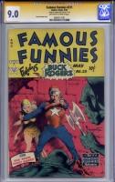 Famous Funnies #211 CGC 9.0 ow/w CGC Signature SERIES