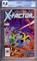X-Factor #1 CGC 9.8 w