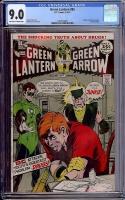 Green Lantern #85 CGC 9.0 ow/w