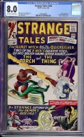 Strange Tales #128 CGC 8.0 ow/w