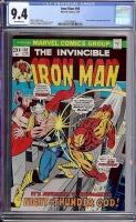 Iron Man #66 CGC 9.4 ow