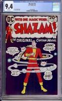 Shazam #5 CGC 9.4 w