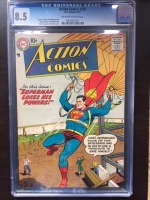 Action Comics #230 CGC 8.5 ow/w