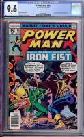 Power Man #48 CGC 9.6 w