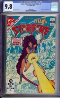 Tales of the New Teen Titans #4 CGC 9.8 w