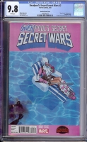 Deadpool's Secret Secret Wars #2 CGC 9.8 w Bachalo Variant Cover