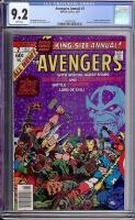 Avengers Annual #7 CGC 9.2 w