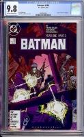 Batman #406 CGC 9.8 ow/w
